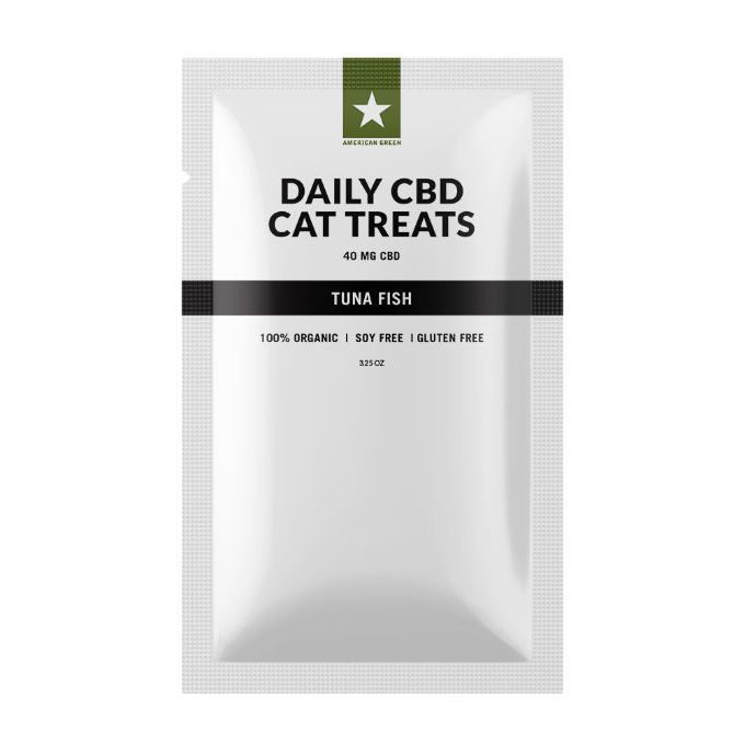 40mg CBD Cat Treats 1mg of CBD each