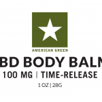 CBD Body Balm 100 MG Label