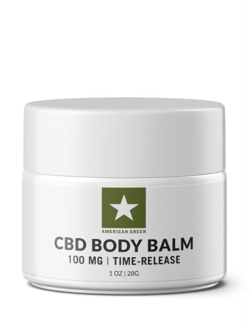 CBD Isolate Balm-100 MG CBD