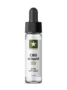 CBD E-Liquid-Coffee Cream (50mg CBD/7.5mL)