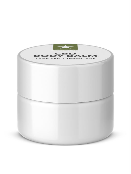 CBD Isolate Balm-12mg CBD