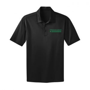 American Green Polo (Black-Green Logo)