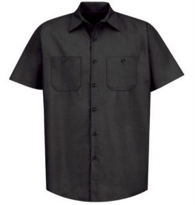 Sweet Virginia Work Shirt (Black-White Logo)