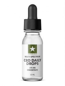 American Green Multi Spectrum CBD Daily Drops-375 MG Concentrate (15ML)