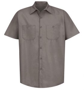 Sweet Virginia Work Shirt (Grey-Black Logo)