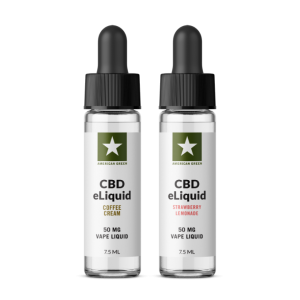 50MG CBD Vape Bundle 2 Pack
