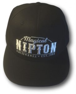 Nipton Hat (Black) Back
