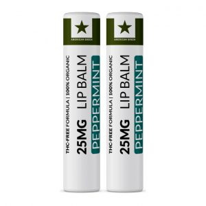 25MG CBD Lip Balm Peppermint Bundle 2 Pack