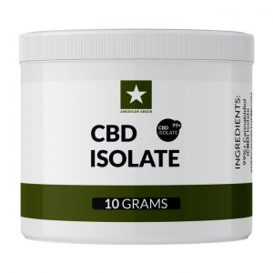 CBD Isolate 10 Grams Big Jar Picture web