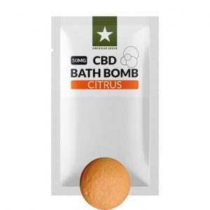 50MG CBD Bath Bomb Citrus