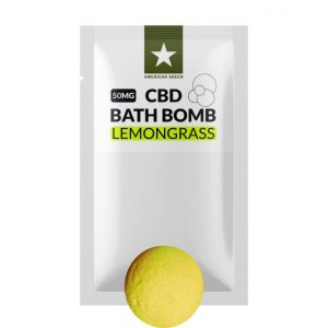 50MG CBD Bath Bomb Lemongrass