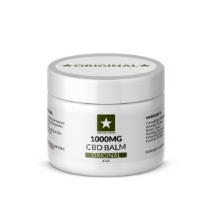 1000mg CBD Balm 2oz Container