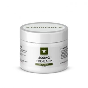 500mg CBD Balm 2oz Container