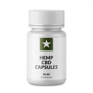 CBD Capsules 50mg Each